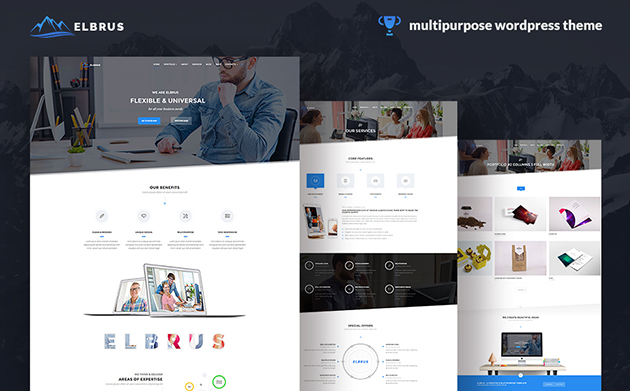 Elbrus - Multipurpose Business WordPress Theme