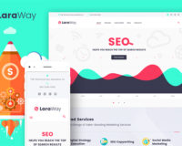 Laraway - SEO & Digital Marketing Agency WordPress Theme