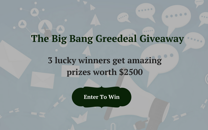 The Big Bang Greedeals Giveaway