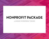 Nonprofit Package from WPlook Studio
